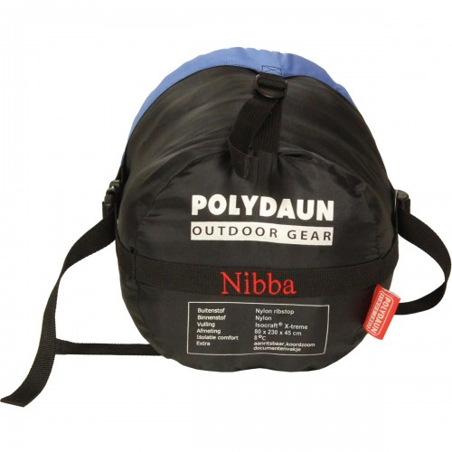Polydaun slaapzak Nibba (80x230x45cm)