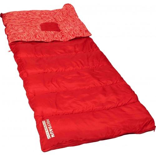 Polydaun Beach House slaapzak rood (80x210cm)