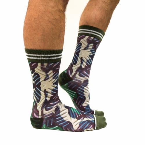 Sock my Feet Army sokken (FW19M010)