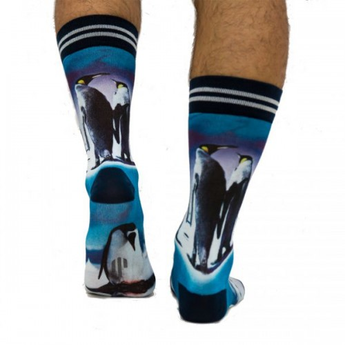 Sock my Feet Male Pinguin sokken (SMFM121)