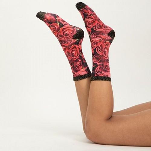 Sock my Feet Roses of Love sokken (SE19W001)