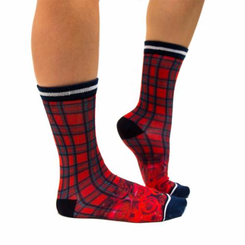 Sock my Feet Tartan sokken (FW19W012)
