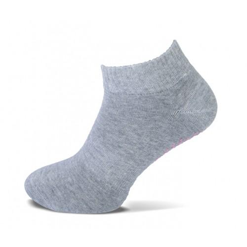 Basset Bio Pilates Yoga sokje (mid grey, anti-slip)