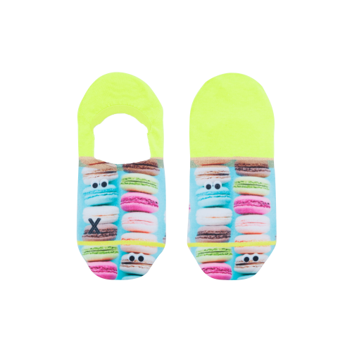 Xpooos invisible sokken Macarons (72035, onesize)