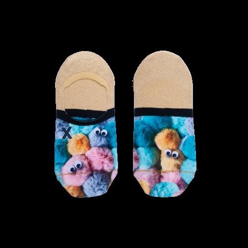 Xpooos invisible sokken Fluffy (72039, onesize)