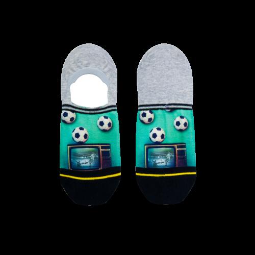 Xpooos invisible sokken Soccer at TV (62024)