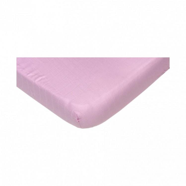 79f283f6289 Hydrofiel hoeslaken 70x150 (roze, peuterbed)