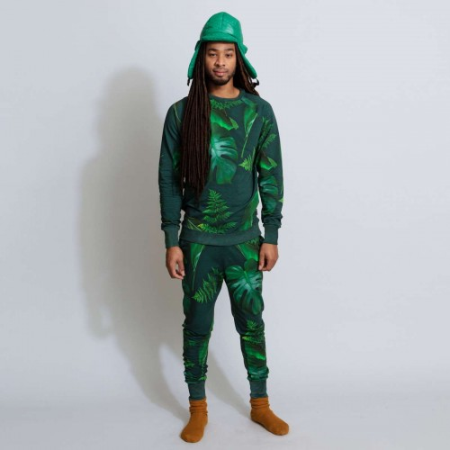 Snurk Green Forest pyjamajas men