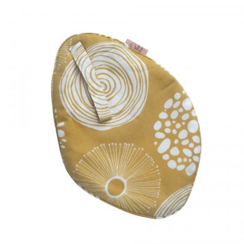 Witlof for kids speen/knuffeldoekje Sparkle (sweet honey-offwhite)