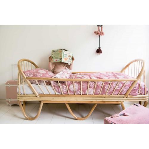 Witlof for kids Tuck-Inn dekbedovertrek Sparkle (rose-offwhite)