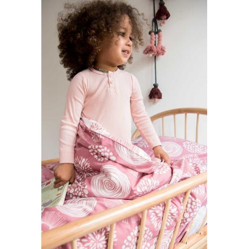 Witlof for kids Tuck-Inn ledikantdekbedovertrek Sparkle (rose-offwhite)