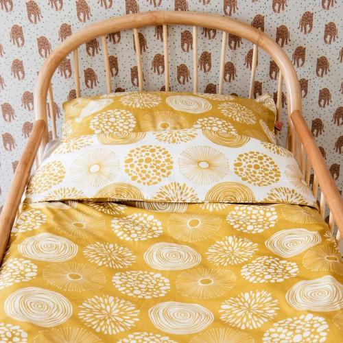 Witlof for kids Tuck-Inn dekbedovertrek Sparkle (sweet honey-offwhite)