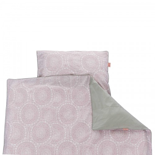 Witlof for kids Tuck-Inn peuterdekbedovertrek Little Lof (misty pink-wit)