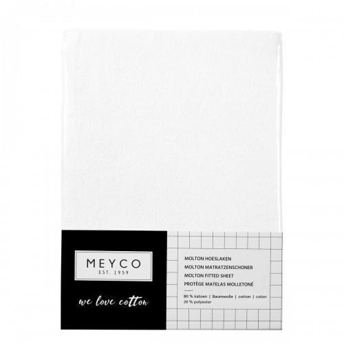 Meyco molton stretch hoeslaken 70x140/150