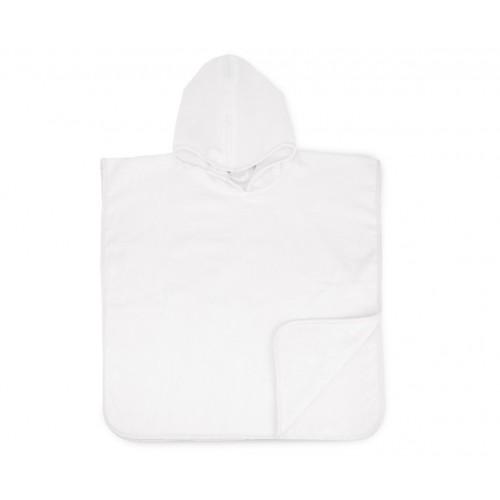 Baby Poncho white (55x55cm)