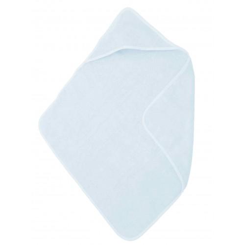 Babycape / handdoek lichtblauw (75x75cm)
