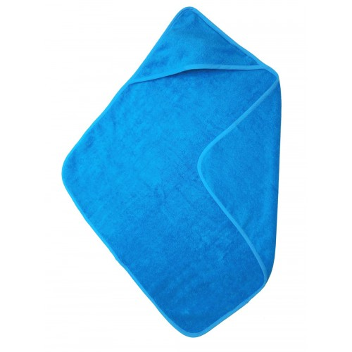 Babycape / handdoek turqouise (75x75cm)