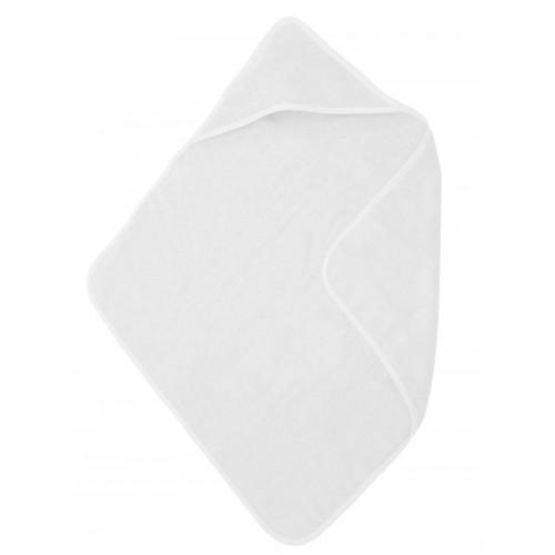 Babycape / handdoek wit (75x75cm)