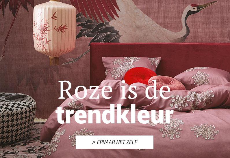 Roze is de trendkleur