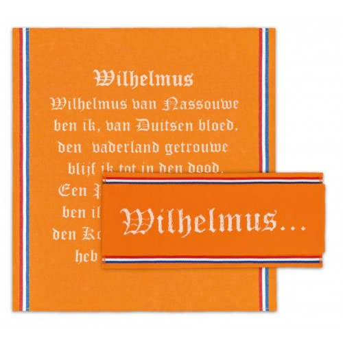 DDDDD Oranje keukenset Wilhelmus (3-pack)