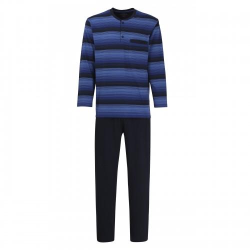 Götzburg heren pyjama Klima Activ (blauw, 451850)
