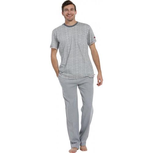 Pastunette pyjama shirt korte mouw (grey, 4399-607-2)