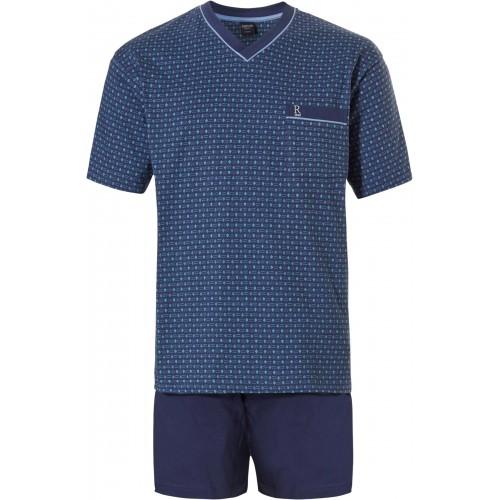 Robson tricot shortama (donkerblauw, 37201-702-2)