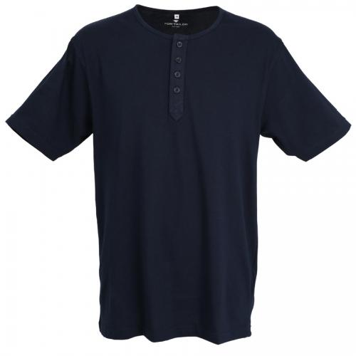 Tom Tailor pyjama shirt korte mouw (blauw, 70824)