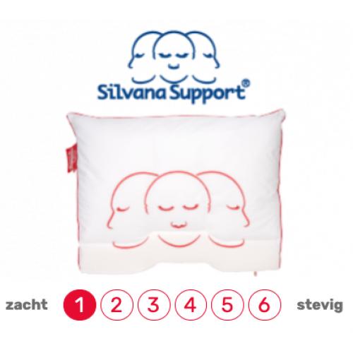Silvana hoofdkussen Support Grenat (extra zacht)