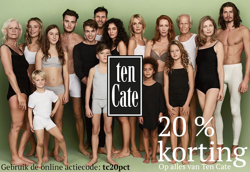 Ten Cate 20 procent korting