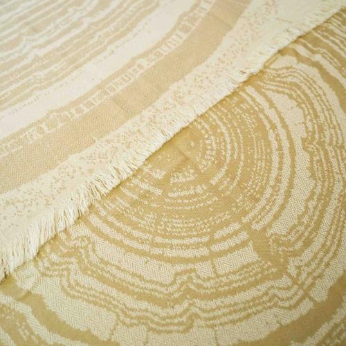 Kayori bamboe hamamdoek Nobu (beige, 100x180cm)