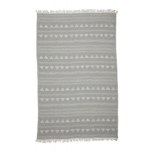 Kayori hamamdoek Sura (grijs, 100x180cm)